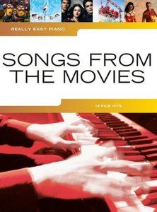Really Easy Piano: Songs From The Movies (Book)