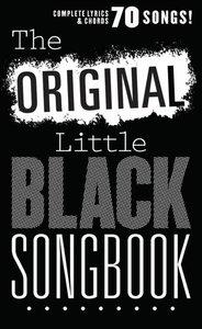 The Little Black Songbook: The Original Little Black Songbook  (Akkoorden Boek) (19x12cm)