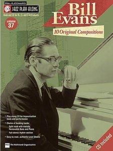 Jazz Play Along: Volume 37 - Bill Evans (Book/CD)
