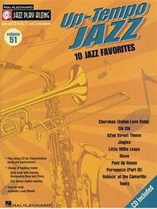 Jazz Play Along: Volume 51 - Up Tempo Jazz (Book/CD)