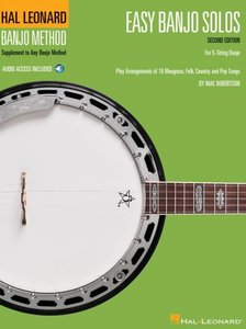 Easy Banjo Solos - 2nd Edition, For 5-String Banjo (Book/Online Audio)