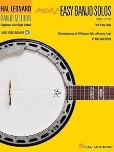 More Easy Banjo Solos - 2nd Edition, For 5-String Banjo (Book/Online Audio)