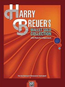 Harry Breuer's Mallet Solo Collection, voor xylofoon / marimba / vibrafoon of klokkenspel (Book)