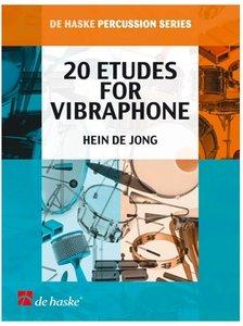 20 Etudes for Vibraphone (Vibrafoon) (Boek)