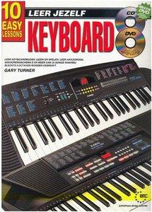 Leer Jezelf Keyboard, 10 eenvoudige lessen (Boek/CD/DVD)