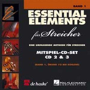 Essential Elements für Streicher Kontrabass Band 1 (Contrabas) (2 CD)