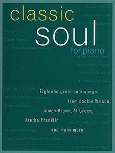 Classic Soul For Piano - Piano/Zang/Gitaar (Boek)