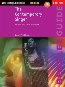 Berklee Press: The Contemporary Singer: Elements Of Vocal Technique, 2nd Edition (Book/CD)