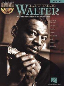 Hal Leonard Harmonica Playalong Volume 13: Little Walter (Book/CD)