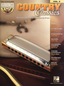 Hal Leonard Harmonica Playalong Volume 5: Country Classics (Book/CD)