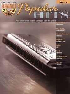 Hal Leonard Harmonica Playalong Volume 1: Popular Hits (Book/CD)