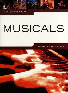 Really Easy Piano: Musicals - 20 Show Favourites (Book)