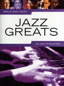 Really Easy Piano: Jazz Greats (Book)