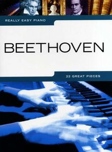 Really Easy Piano: Beethoven (Book)