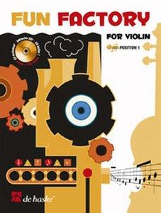 Fun Factory for Violin - Viool (Boek/CD)