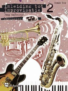 Inleiding Tot Improvisatie 2 - Fagot / Trombone (BC) / C-instrumenten F-sleutel - Deel 2 (Boek/CD)