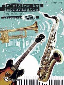 Inleiding Tot Improvisatie 1 - Fagot / Trombone (BC) / C-instrumenten F-sleutel - Deel 1 (Boek/CD)