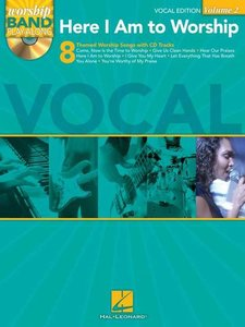 Worship Band Playalong Volume 2: Here I Am To Worship - Vocal Edition (Book/CD)