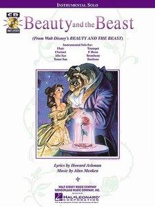 Beauty and the Beast (Alto Sax / Clarinet / Flute / French Horn / Tenor Saxophone) (Boek/CD)