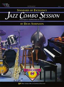 Standard Of Excellence: Jazz Combo Session (Bass) (Book/CD)
