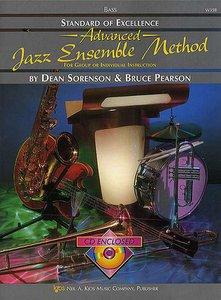 Standard Of Excellence: Advanced Jazz Ensemble Method (Bass) (Book/CD)