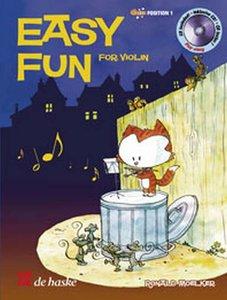 Easy Fun for Violin - Viool (Boek/CD)