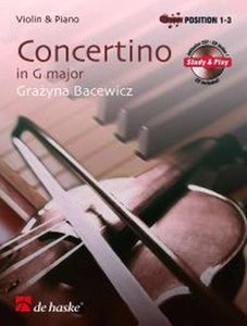 Concertino in G-Dur - Viool (Boek/CD)