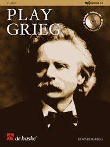 Play Grieg - Viool (Boek/CD)