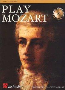 Play Mozart - Altsaxofoon (Boek/CD)