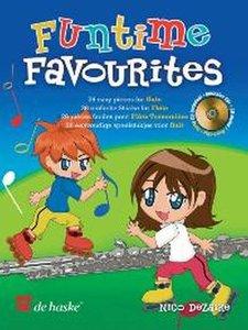 Funtime Favourites - 26 eenvoudige speelstukjes voor Dwarsfluit (Boek/CD)