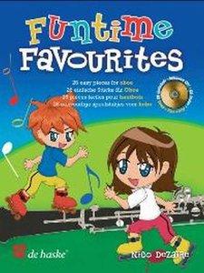 Funtime Favourites - 26 eenvoudige speelstukjes voor Hobo (Boek/CD)
