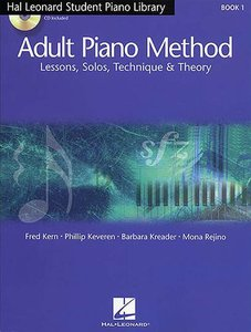 Hal Leonard Piano Method: Book 1 - Lessons, Solos, Technique & Theory (Book/2 CD)