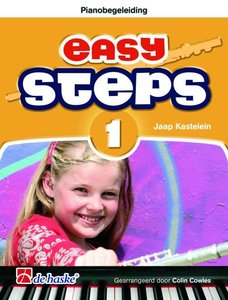 Easy Steps 1 - Pianobegeleiding Dwarsfluit (Boek)