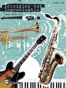 Inleiding Tot Improvisatie 1 - Altsaxofoon / Es-instrumenten G-sleutel - Deel 1 (Boek/CD)