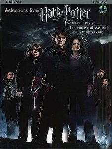 Selections From Harry Potter And The Goblet Of Fire - Tenor Saxofoon (Boek/CD)