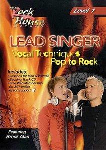Lead Singer Vocal Techniques - Pop To Rock - Level 1 (DVD/CD)