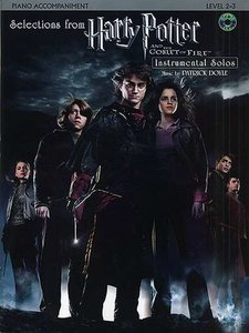 Selections From Harry Potter And The Goblet Of Fire - Pianobegeleiding (Boek)