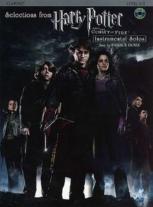 Selections From Harry Potter And The Goblet Of Fire - Klarinet (Boek/CD)