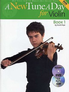 A New Tune A Day For Violin (Viool) (Book/CD/DVD)