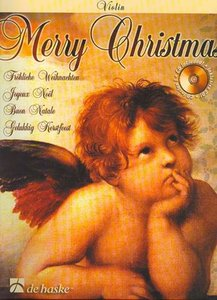 Merry Christmas - Viool (Boek/CD)