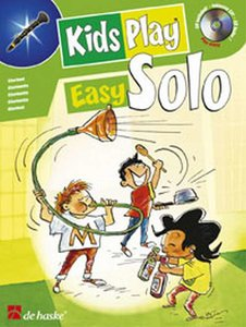 Kids Play Easy Solo - Klarinet (Boek/CD)