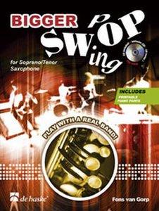 Bigger Swop - Sopraan / Tenor saxofoon (Boek/CD)