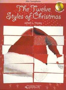 The Twelve Styles of Christmas - Altsaxofoon (Boek/CD)
