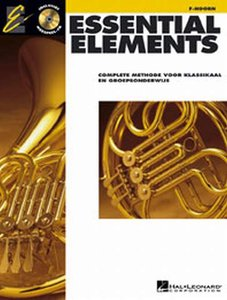Essential Elements 1, Hoorn (Boek/CD)