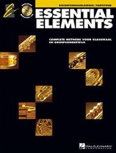 Essential Elements 1, Docentenhandleiding/Partituur (Boek/CD)