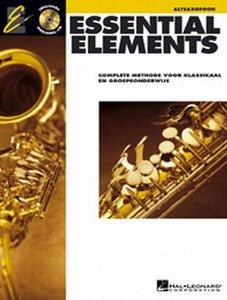 Essential Elements 1, Altsaxofoon (Boek/CD)