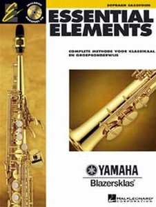 Essential Elements 1, Sopraansaxofoon (Boek/CD)