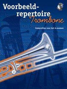 Voorbeeld-repertoire A - Trombone (HaFaBra Voorbeeldrepertoire A-Examen) (Boek/CD)
