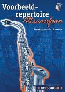 Voorbeeld-repertoire A - Altsaxofoon (HaFaBra Voorbeeldrepertoire A-Examen) (Boek/CD)