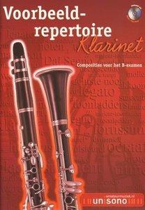 Voorbeeld-repertoire B - Klarinet (HaFaBra Voorbeeldrepertoire B-Examen) (Boek/CD)